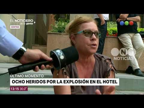 Explosión en el hotel Intercontinental - El Noticiero de la Gente