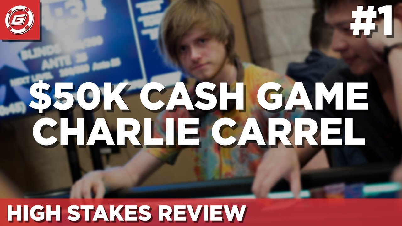 How To Win $50k Playing Poker With Charlie Carrel (part 1)