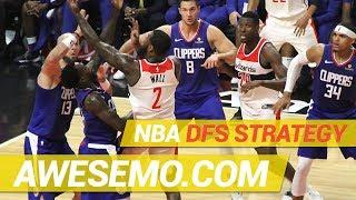 DraftKings & FanDuel NBA DFS Strategy - Tue 11/20 - Awesemo.com