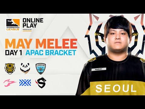 Overwatch League - Seoul Dynasty vs Hangzhou Spark | May Mel