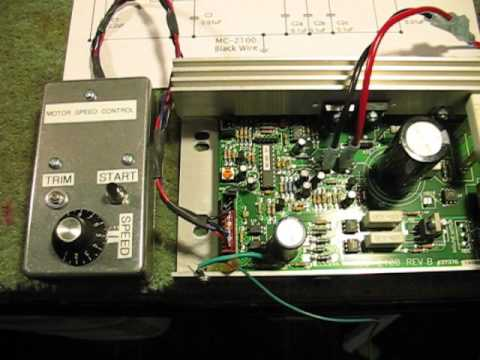 Mc 2100 Treadmill Speed Control Circuit Youtube