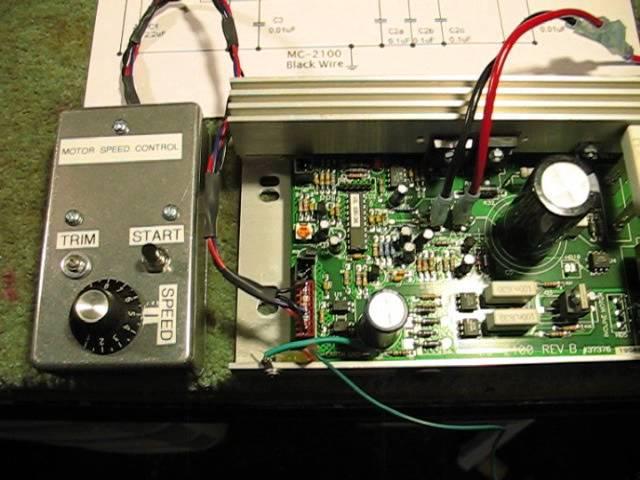 [SCHEMATICS_4UK]  MC-2100 Treadmill Speed Control Circuit - YouTube | Mc 60 Controller Wiring Diagram |  | YouTube