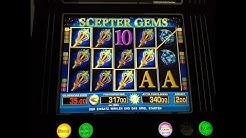 Mega win bei Scepter Gems #Spielautomat