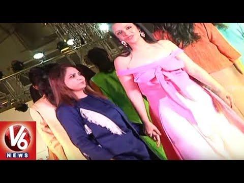 India Glam Fashion Week : Models Ramp Walk In Western & Traditional Wear | Vizag | V6 News