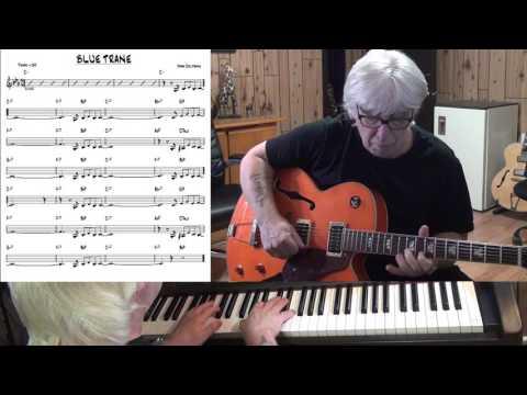 Blue Trane - Jazz guitar & piano cover ( John Coltrane )