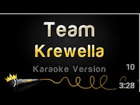 Krewella   Team     (Karaoke Version)
