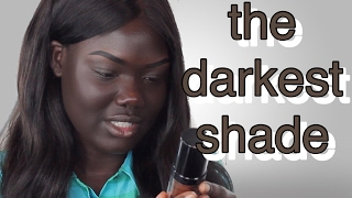 One of Nyma Tang's most viewed videos: LA GIRL PRO COVERAGE FOUNDATION REVIEW DARK CHOCOLATE || Nyma Tang