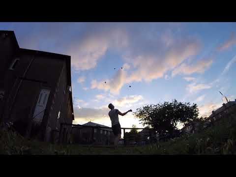 Luke Davies Juggling 8 Balls
