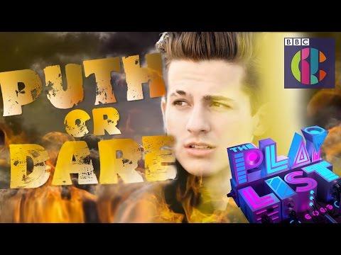 Charlie Puth plays 'Puth or Dare' on CBBC