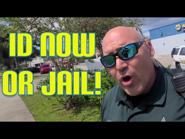 Cop demands ID and Gets Owned! Cops doesn't know the law 1st amendment audit fail