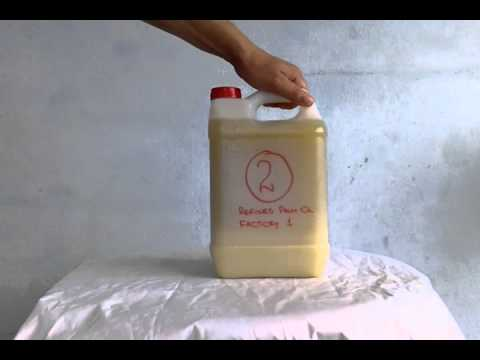 Refined Palm Oil - Sample 02 - Factory 01