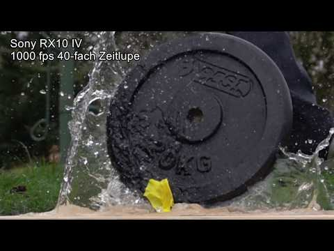 250/500/1000 Fps Slow Motion Sony RX10 IV