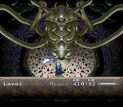 Chrono Trigger - Magus solo vs. Lavos