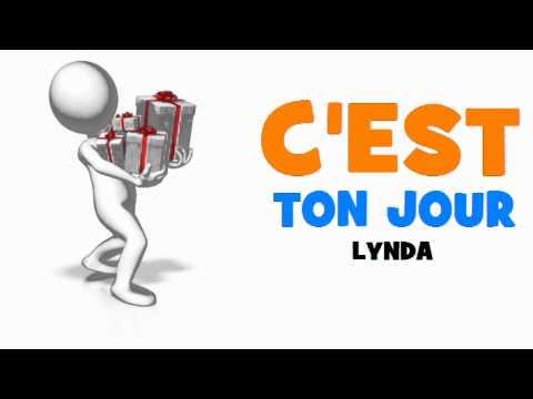 Joyeux Anniversaire Lynda Youtube