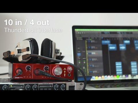 Focusrite // Clarett 2Pre recording with Hannah V