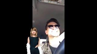 Brendon Urie singing Blank Space Video