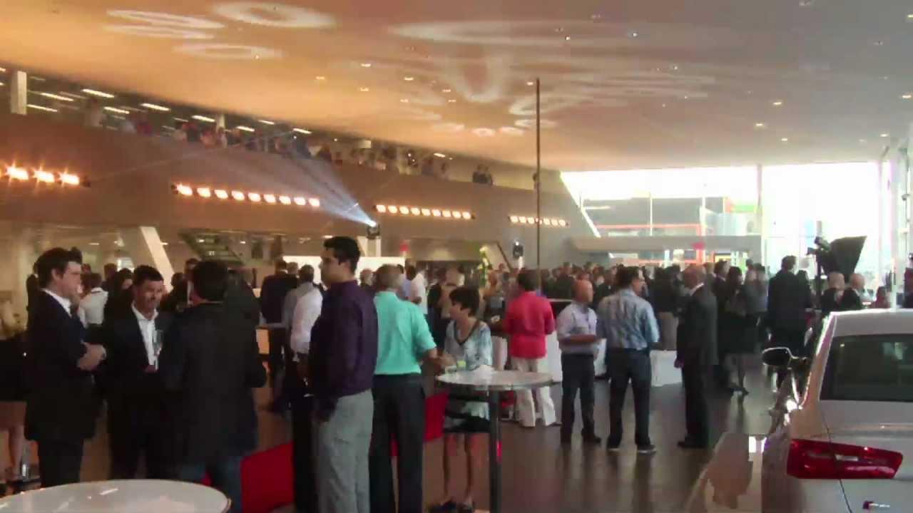 Audi Lauzon Laval >> Inauguration du Terminal Lauzon Audi à Laval. - YouTube