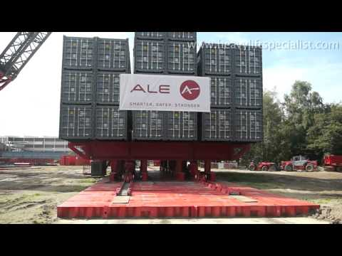 Biggest Crane in The World ALE SK190