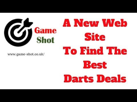 Game Shot A New Site To Help You Find The Best Darts Deals