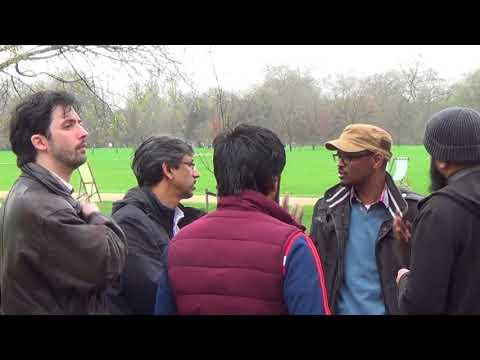 I believe in a God   Shabir Yusuf  Hyde Park