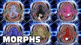 Mighty Morphin Power Rangers - All Ranger Morphs | Season 3 Episodes 1-33 | Morphin Time Superheroes