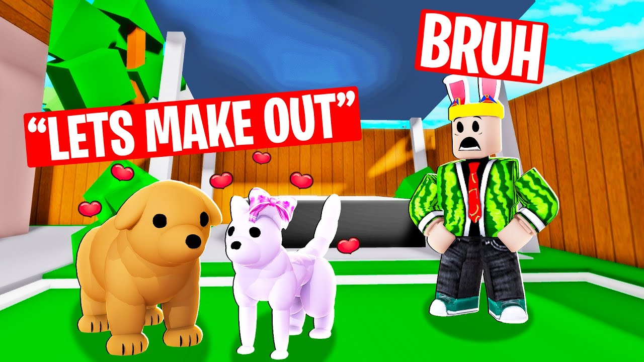 I caught my GIRL DOG ONLINE DATING.....what she did will shock you (Brookhaven RP)