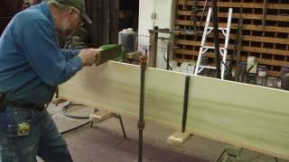 Rebuilding an International, wood wheel, wagon, part 1