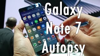Samsung Galaxy Note 7 Autopsy  What caused the battery to explode?