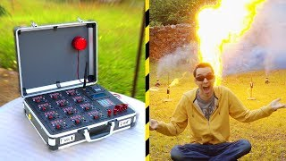 Fabrication d'une table Pyrotechnique ! - Vlog Bricolage #20