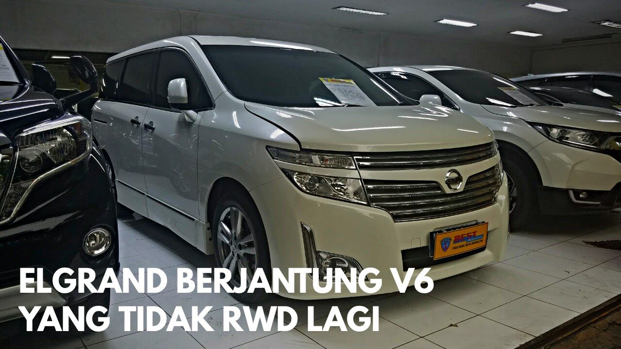 Nissan Elgrand E52 3 5 V6 Prefacelift 2011 Tour Review Indonesia Youtube