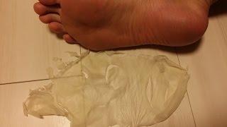 足の皮を剥いてみた ノーカット版