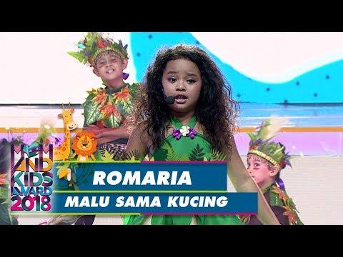 Yeay! Pembukaan Yg Meriah Oleh Romaria [MALU SAMA KUCING] - Mom & Kids Award 2018 (21/7)