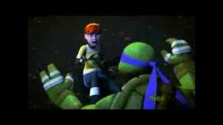 TMNT 2012 DONNIE APRIL WHAT MAKES YOU BEAUTIFUL