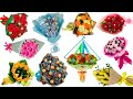 11 идей букетов в школу на 1 сентября своими руками.  Handmade Buket7ruTV