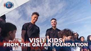 VISIT KIDS FROM THE QATAR FOUNDATION