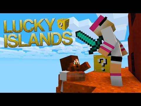 JAG TRODDE DET VAR UTE MED MIG! | Lucky Islands på Cubecraft