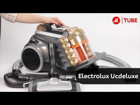 пылесос electrolux ucdeluxe видео