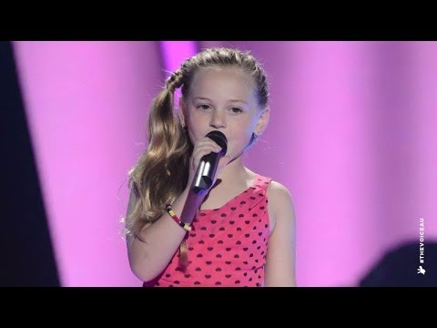 Molly Sings Am I Not Pretty Enough | The Voice Kids Australia 2014