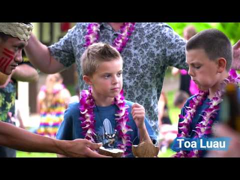 TOA LUAU at Waimea Valley on Oahu's Northshore - Video