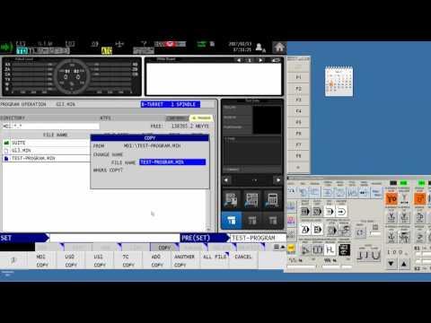 How To Easily Transfer Programs To Okuma's OSP Controls