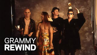 Red Hot Chili Peppers Thank Mother Nature For Their 1993 GRAMMY | GRAMMY Rewind