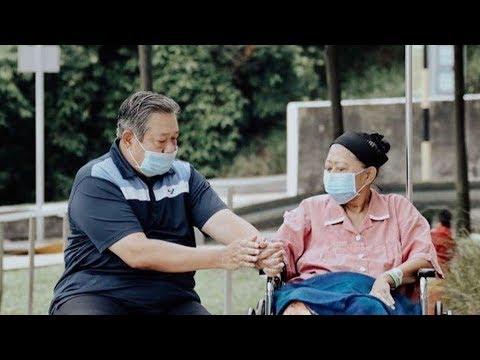 Sambil Menahan Tangis, SBY: Saya akan Wujudkan Mimpi-mimpi Ibu Ani Yudhoyono