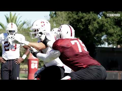Stanford Football: Fall Camp [8.8.18]