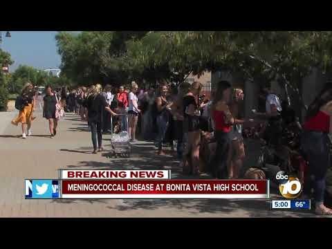 Meningococcal warning at South Bay school