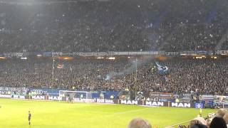 Hamburger SV - Werder Bremen (2:0), 23.11.14, Support