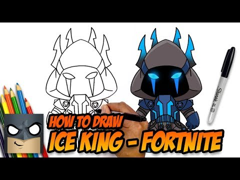 How to Draw Ice King | Fortnite | Step-by-Step Tutorial