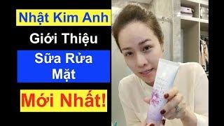 Nhật Kim Anh Giới Thiệu Sữa Rửa Mặt Trắng Da Nhuỵ Hoa Nghệ Tây Hoàn Toàn Mới Của Laura Sunshine!