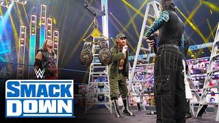 Jeff Hardy, AJ Styles and Sami Zayn brawl ahead of WWE Clash of Champions: SmackDown, Sept. 25, 2020