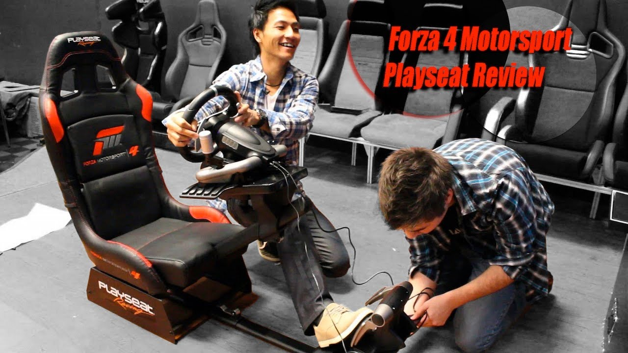 Forza 4 Motorsport Playseat Review