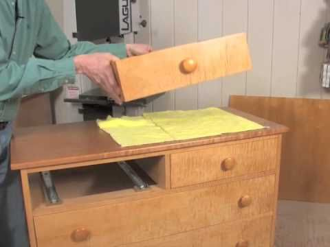 Installing Under-Mount Drawer Slides - YouTube